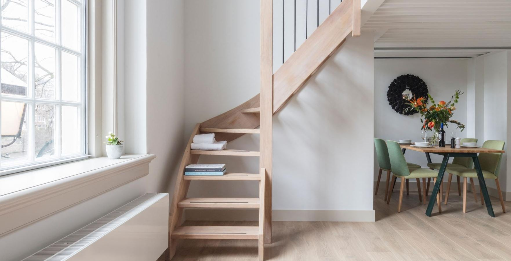 Staircase at The Wittenberg Apartments, Amsterdam - Citybase Apartments