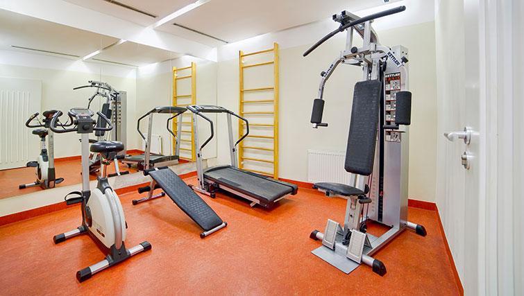 Quality gym in Mamaison Residence Belgicka - Citybase Apartments