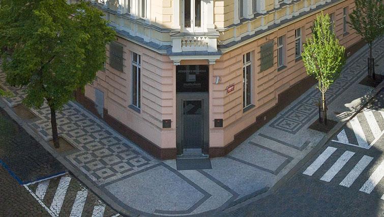 Traditional exterior of Mamaison Residence Belgicka - Citybase Apartments