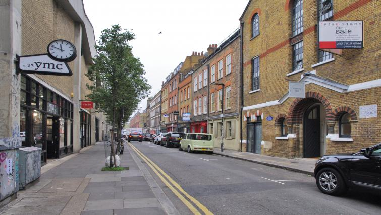 Exterior of Spitalfields Hanbury Apartment - Citybase Apartments