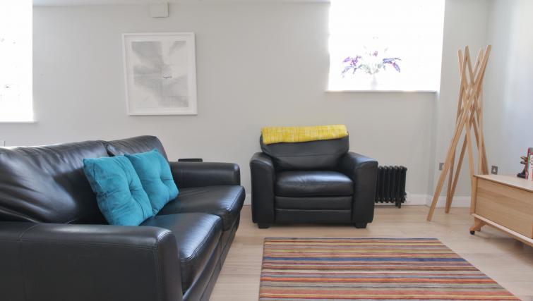 Living space at Spitalfields Hanbury Apartment - Citybase Apartments