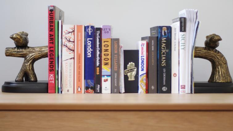 Library at Spitalfields Hanbury Apartment - Citybase Apartments