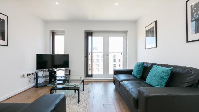 Lounge at the Bluestone Trinity Apartment - Citybase Apartments