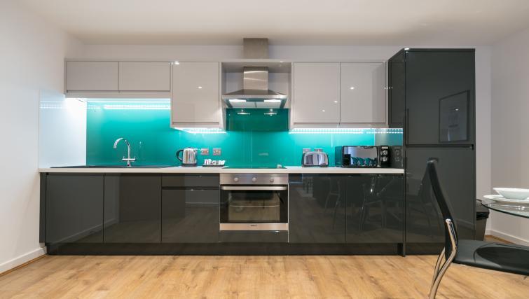 Kitchen at the Bluestone Trinity Apartment - Citybase Apartments