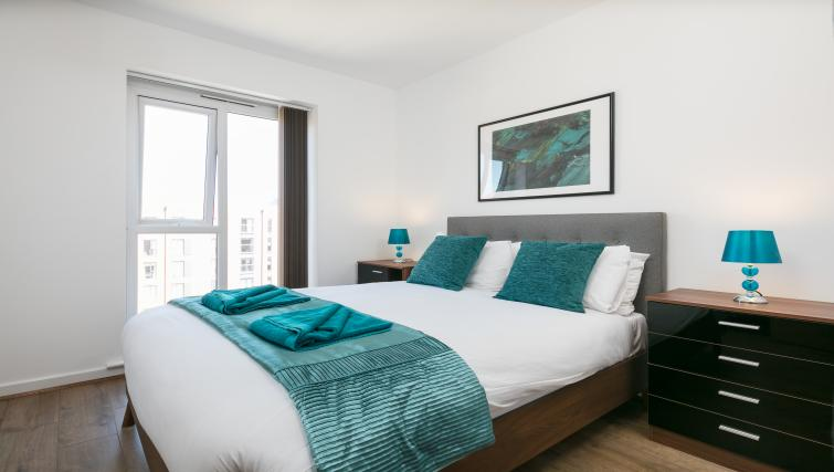 Bedroom at the Bluestone Trinity Apartment - Citybase Apartments