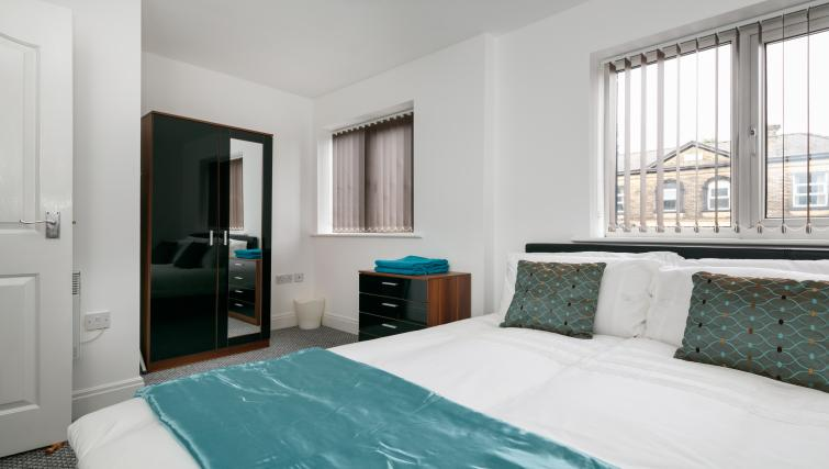 Bed at Bluestone Richmond Apartment - Citybase Apartments