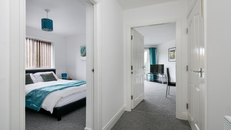 Hallway at Bluestone Richmond Apartment - Citybase Apartments