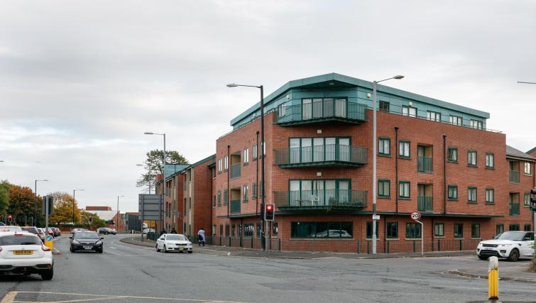 Exterior of Bluestone Richmond Apartment - Citybase Apartments