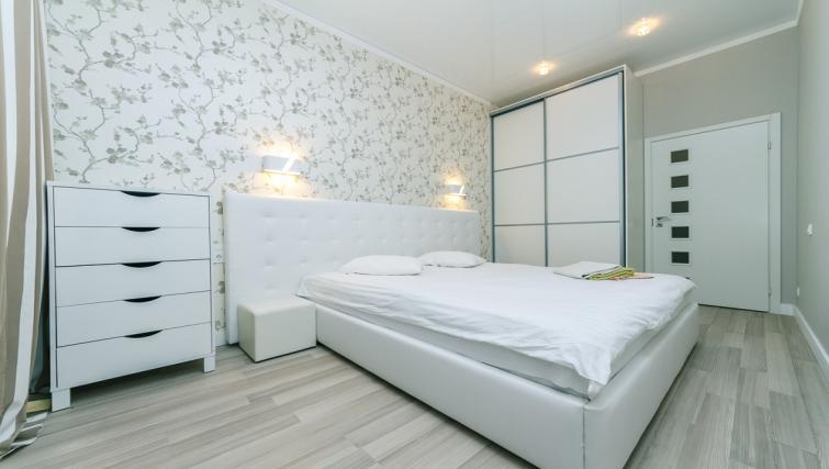 Bed at Darvina Apartment - Citybase Apartments