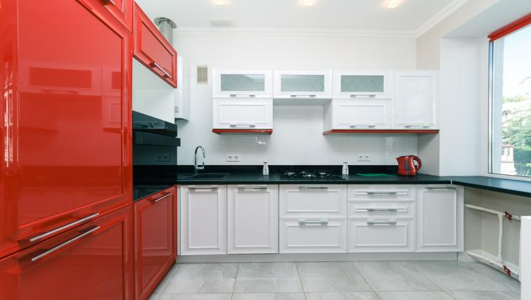 Kitchen at Darvina Apartment - Citybase Apartments