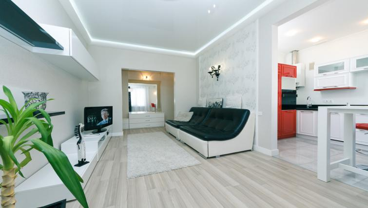 Living area at Darvina Apartment - Citybase Apartments