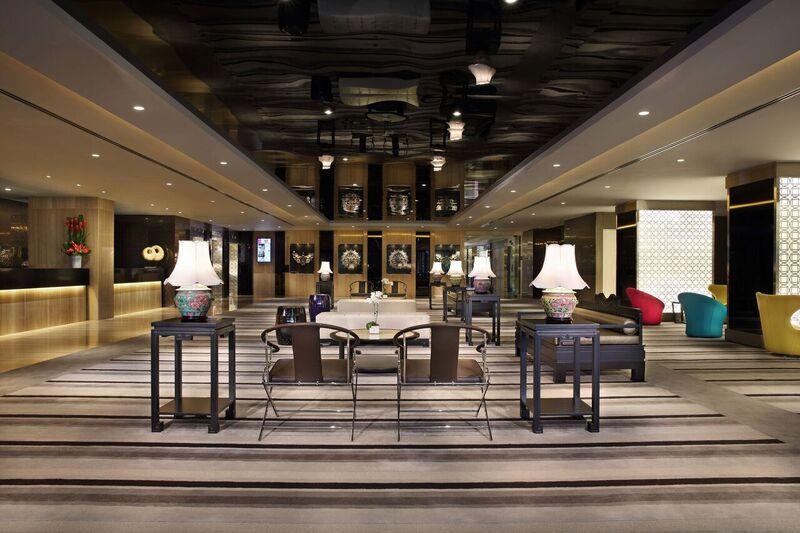 Lobby at Village Hotel Katong, Singapore - Citybase Apartments