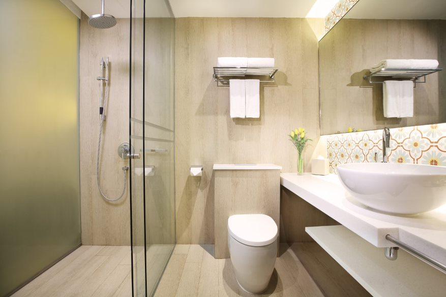 Bathroom at Village Hotel Katong, Singapore - Citybase Apartments