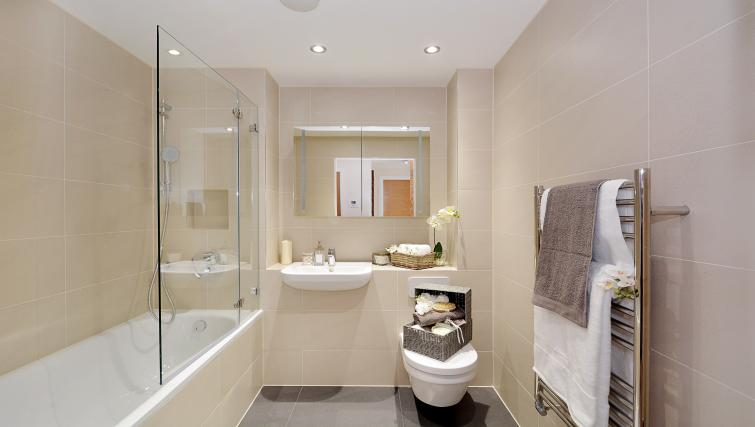 Bathroom at Aldgate City Apartments - Citybase Apartments