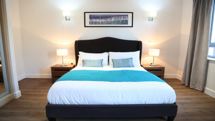 Bed at Aldgate City Apartments - Citybase Apartments