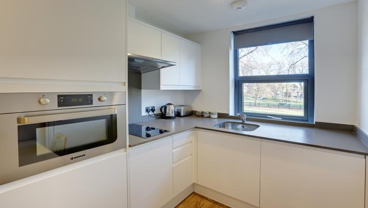 Equipped kitchen at Linton The Hub Apartments - Citybase Apartments