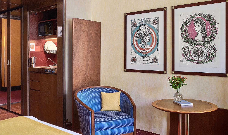 Kitchen at Living Hotel Prinzessin Elisabeth Apartments, Glockenbachviertel, Munich - Citybase Apartments