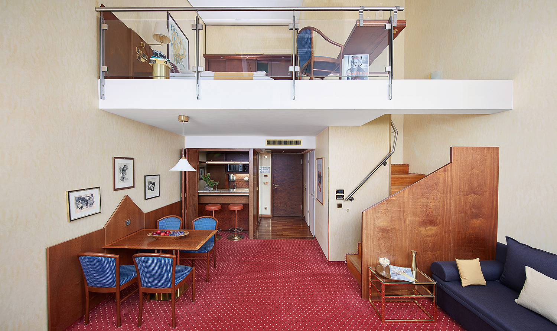 Overview at Living Hotel Prinzessin Elisabeth Apartments, Glockenbachviertel, Munich - Citybase Apartments