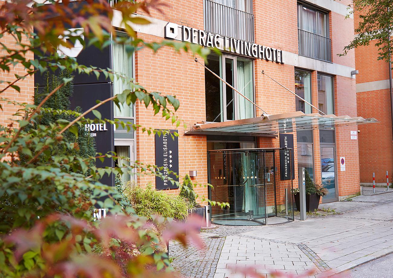Exterior at Living Hotel Prinzessin Elisabeth Apartments, Glockenbachviertel, Munich - Citybase Apartments