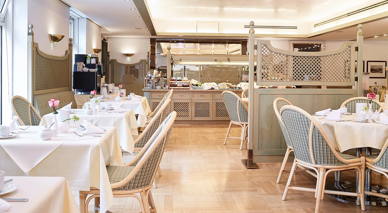 Restaurant at Living Hotel Prinzessin Elisabeth Apartments, Glockenbachviertel, Munich - Citybase Apartments