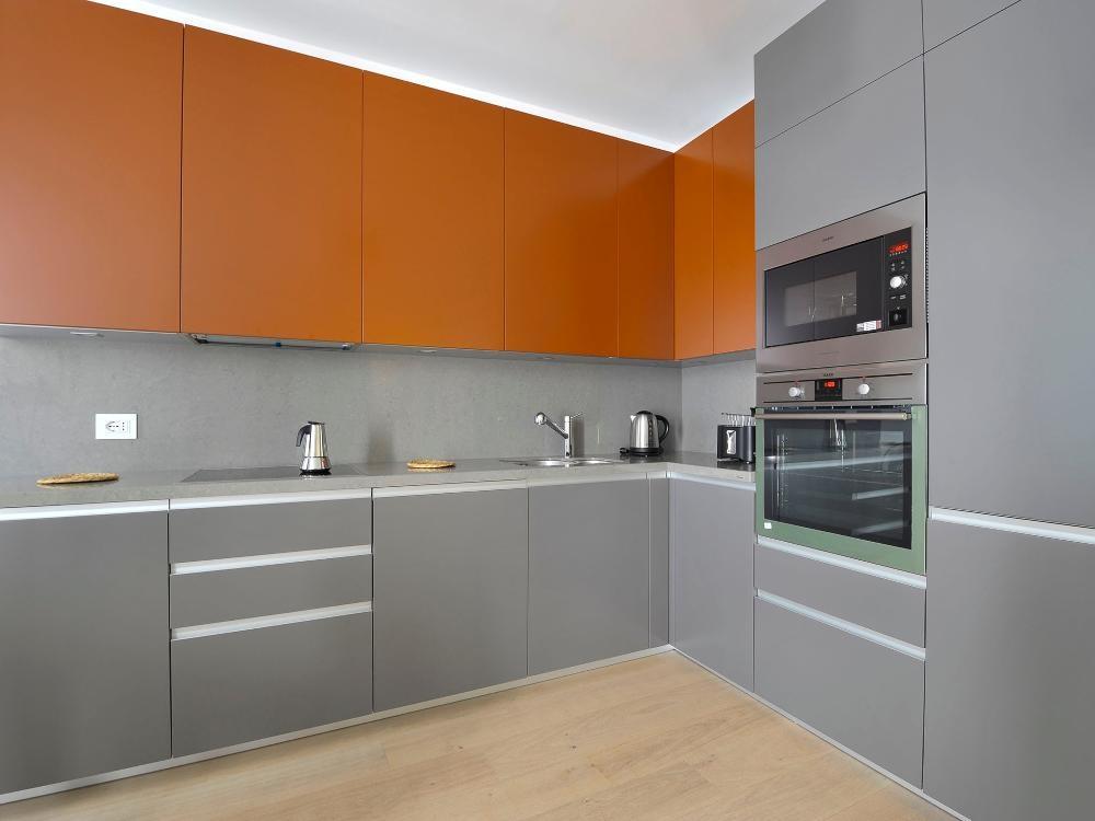 Kitchen at Gorani Apartments, Centre, Milan - Citybase Apartments