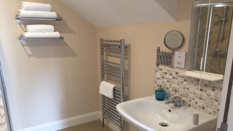Bathroom at Belfast Serviced Apartments - Citybase Apartments
