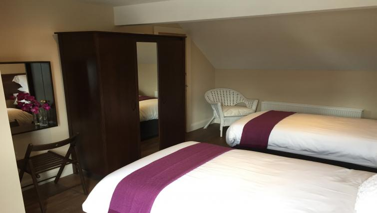 Twin beds at Belfast Serviced Apartments - Citybase Apartments