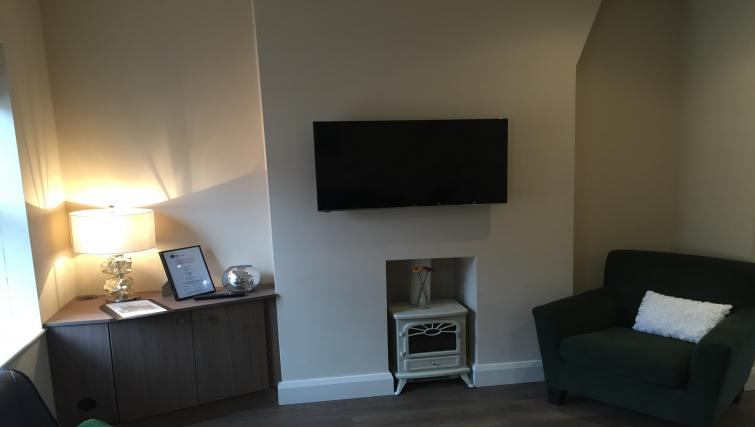 Tv at Belfast Serviced Apartments - Citybase Apartments