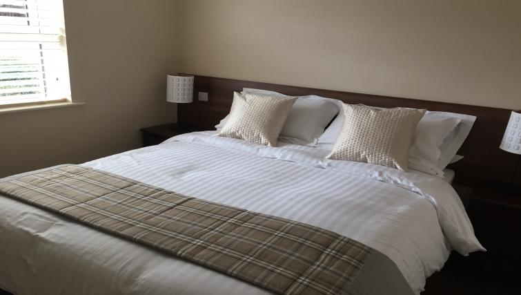 Bedroom at Belfast Serviced Apartments - Citybase Apartments