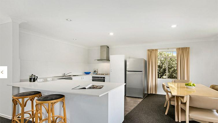 Kitchen at Quest Trinity House - Citybase Apartments