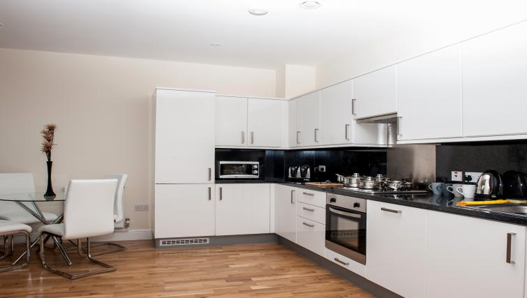 Kitchen at PSF Apartments - Citybase Apartments