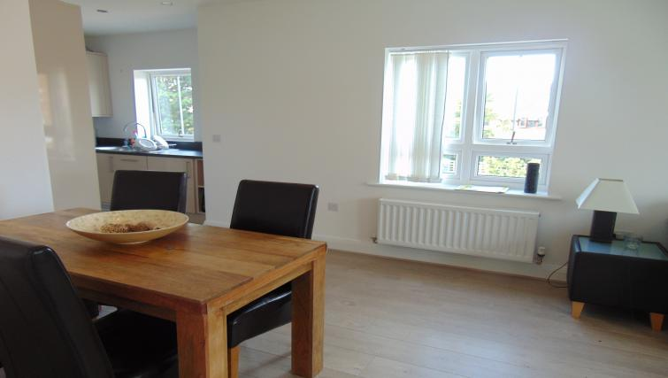 Wooden flooring at the Maidenhead Apartment - Citybase Apartments