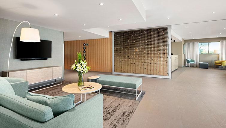 Reception area at Quest Eight Mile Plains Apartments - Citybase Apartments