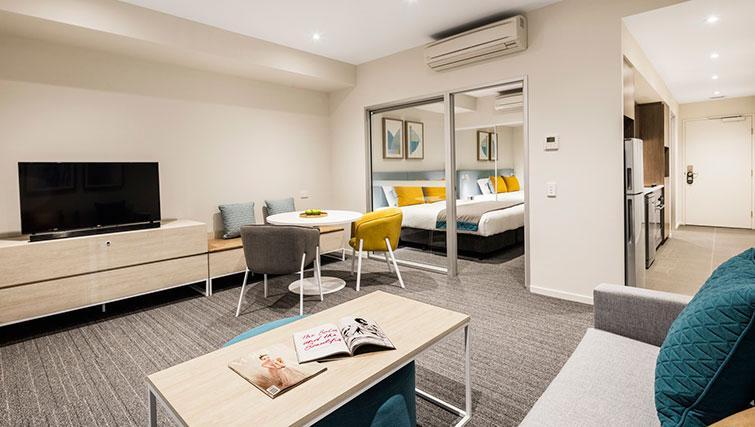 Lounge at Quest Eight Mile Plains Apartments - Citybase Apartments