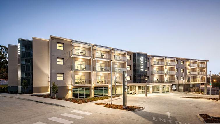 Exterior of Quest Eight Mile Plains Apartments - Citybase Apartments