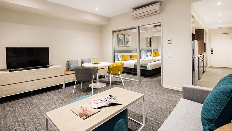 1 bed living at Quest Eight Mile Plains Apartments - Citybase Apartments