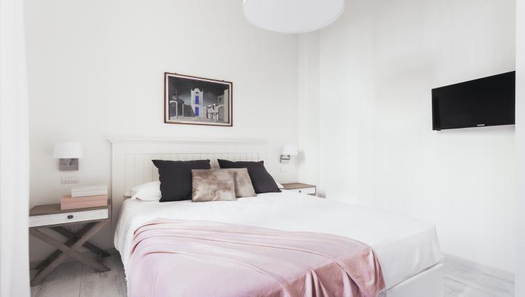 Main bedroom at Residence Opera Apartment - Citybase Apartments