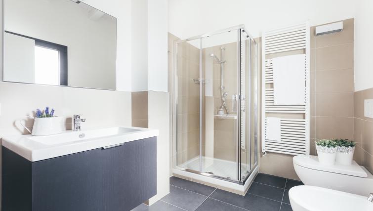 Bathroom at Residence Opera Apartment - Citybase Apartments