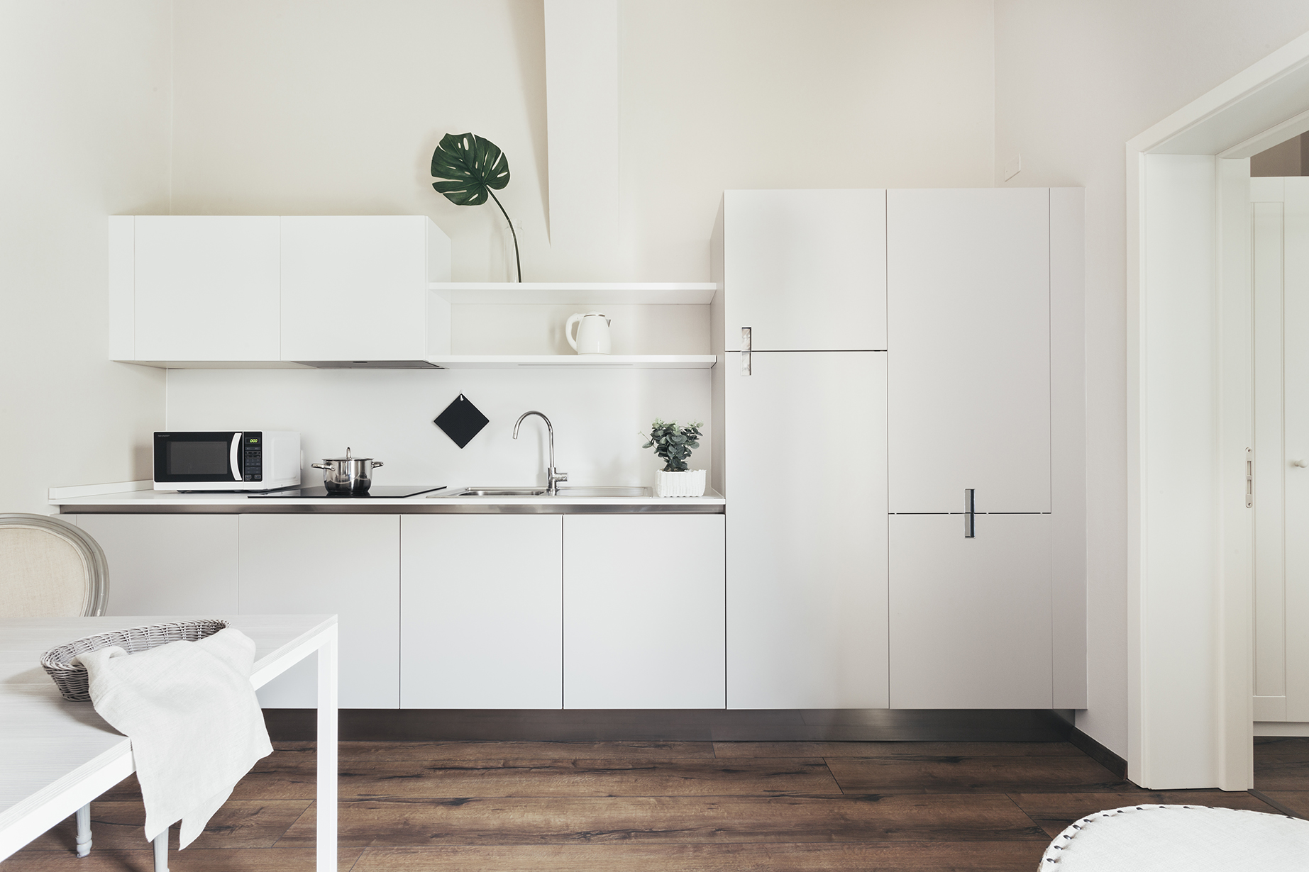 Kitchen at Residence Opera Apartment - Citybase Apartments