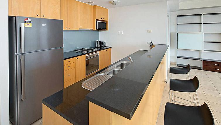 Kitchen at Mid Town Sydney Apartments - Citybase Apartments