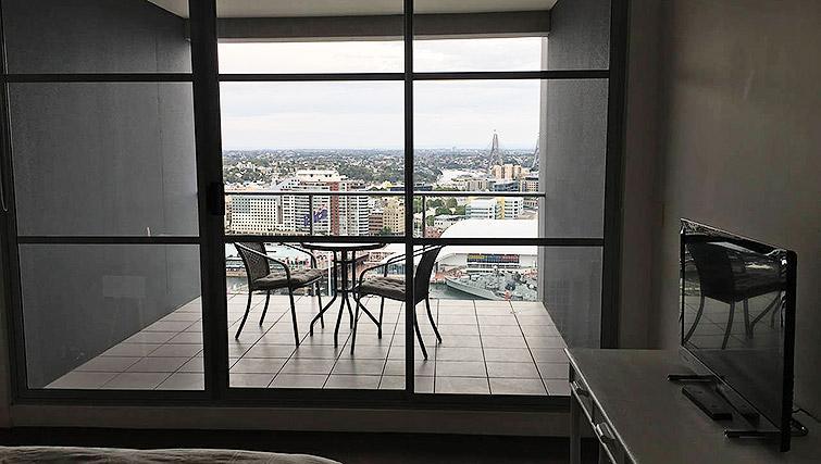 Balcony at Mid Town Sydney Apartments - Citybase Apartments