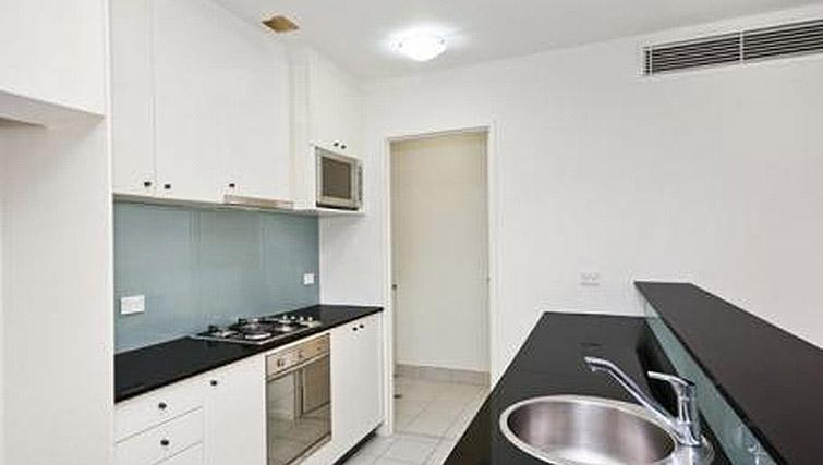 Well equipped kitchen at Mid Town Sydney Apartments - Citybase Apartments