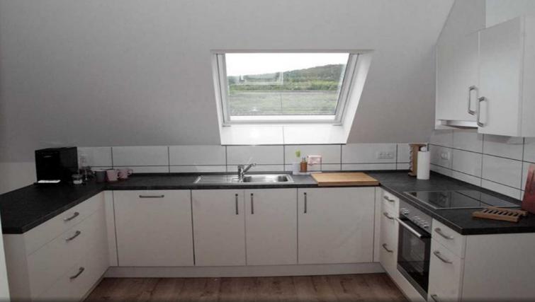 Kitchen at Pellenzblick Apartments - Citybase Apartments
