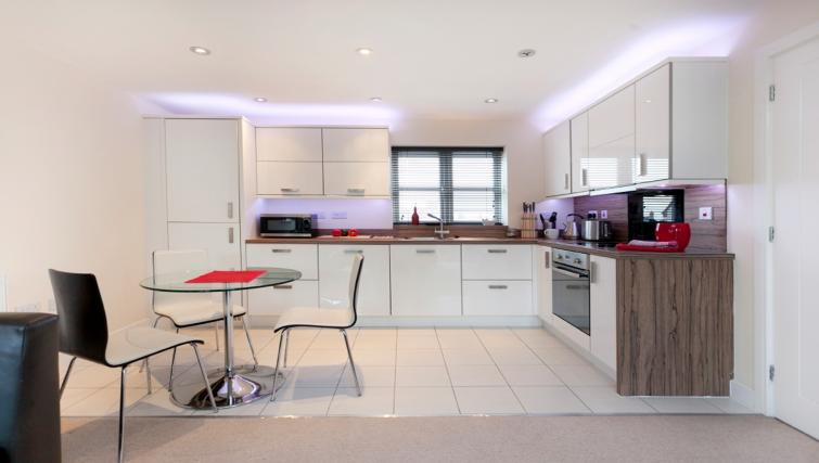 Kitchen at DBS The Coach House Apartment - Citybase Apartments