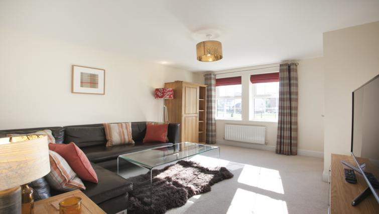 Living area at DBS The Stretton House - Citybase Apartments