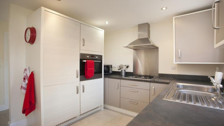 Equipped kitchen at DBS The Stretton House - Citybase Apartments
