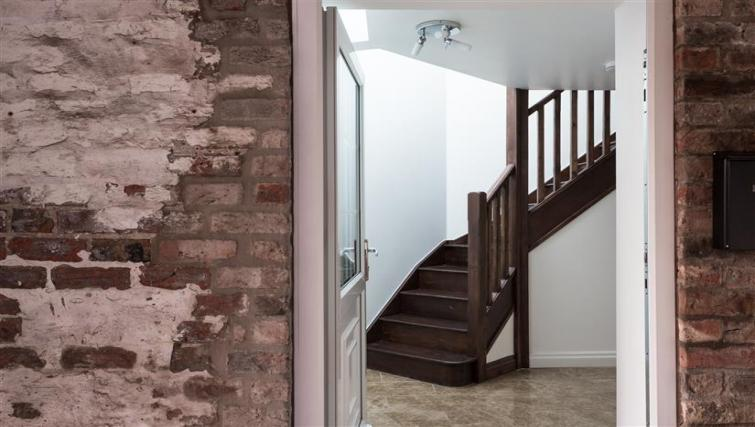 Stairs at The Light Well Apartment - Citybase Apartments