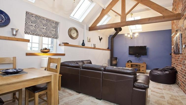 Lounge at Holtby Farm Cottages - Citybase Apartments