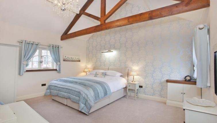 Bedroom at Holtby Farm Cottages - Citybase Apartments