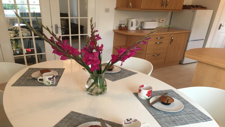 Table at Brambling House - Citybase Apartments